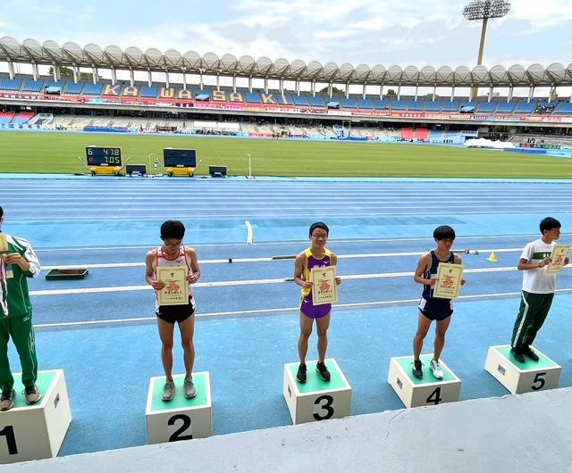 陸上部 関東大会7人入賞 インターハイ4人出場 男子総合第6位