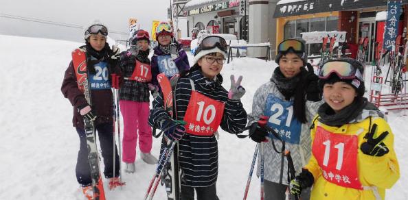 スキー教室写真