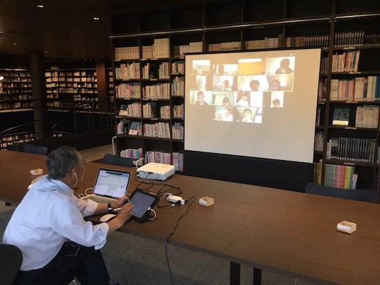 オンライン授業・動画配信授業の様子